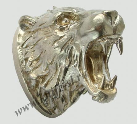 Голова Тигр (мельхиор)