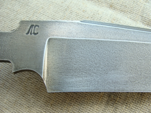 Клинок Тайга травлёный (сталь ХВ5)
