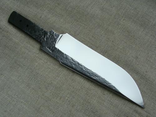 Клинок Тайга со следами ковки (сталь Х12МФ)