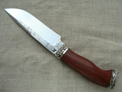 Нож Лесник 1 со следами ковки (сталь Х12МФ)