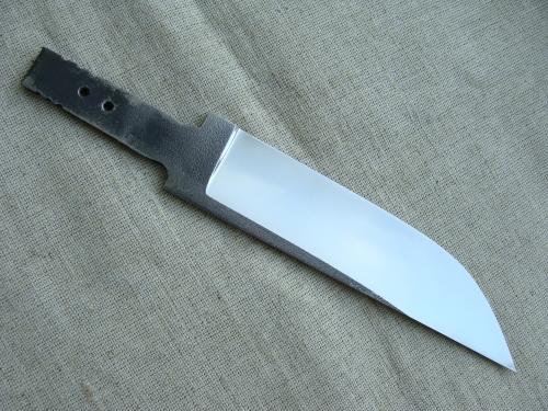 Клинок Промысловый, сатин (сталь Bohler N690)