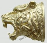 Голова Готический тигр (латунь)
