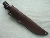 Цельнометаллический нож Промысловый (сталь D2) с фиброй и G 10