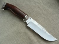 Нож Охотник 1 со следами ковки (сталь Х12МФ)