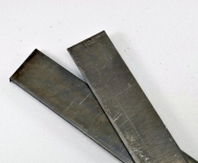 Полоса 300х45х4 мм. (сталь D2) без термообработки